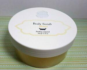 LALINE Body Scrub MONOI Scent With Avocado Oil And Mineral Salt 500gr 17.8oz