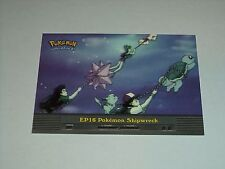 EP16 Pokemon Shipwreck - 2000 Topps Pokemon Series 2 Episode Card