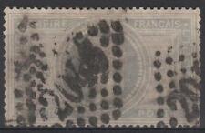 "FRANCE STAMP TIMBRE 33 "" NAPOLEON III 5F VIOLET GRIS "" OBLITERE A VOIR  M392"