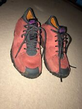 Size 4 ACG Rare Vintage Maroon Suede Nike Air Azona LAST cHANCE TO BUY