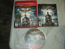 Batman: Arkham Asylum -- Game of the Year Edition (PlayStation 3, PS3) complete