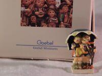 Vintage Hummel Goebel Miniature Stormy Weather Figurine 251-P 1st Edition