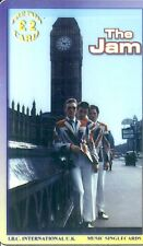 RARE / CARTE TELEPHONIQUE PREPAYEE - THE JAM ( LIMITED EDITION ) / PHONECARD