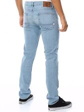 Men's Element Boom SB Slim Leg Light Denim Jeans, Size 34. NWT. RRP $99.99.