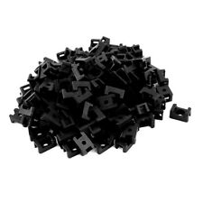 HK Screw Mounts Saddles Bases Cable Tie Cradle Holder 150pcs Black D6K4