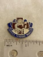 Authentic US Army 28th Combat Support Hospital DI DUI Crest Insignia D-22