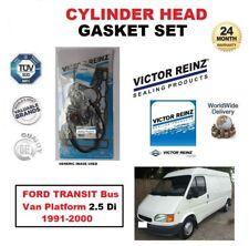 VICTOR REINZ HEAD GASKET SET for FORD TRANSIT Bus Van Platform 2.5 Di 1991-2000