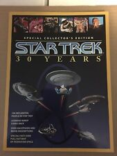 Star Trek 30 Years Collectors Edition W/ Center Fold Poster Attached Nm/M 1996