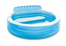 TOP Pool Schwimmbad Gartenpool mit Sitzplätzen 229x229cm Intex 57190