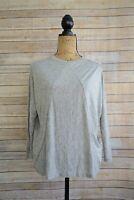 NWT Old Navy - Gray heather dolman sleeve soft SLOUCHY tee shirt, size XS