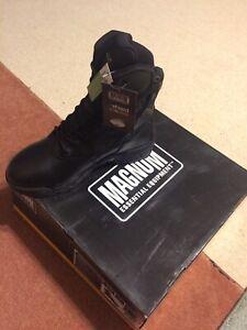 Magnum Strike Force 8.0 Leather Black Size US11 Boots