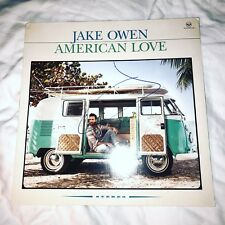 Jake Owen Signed American Love Vinyl Lp Album Proof Coa Auto County