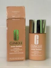 Clinique Even Better Makeup Foundation Spf 15 Evens & Corrects - Wn30 *Read*