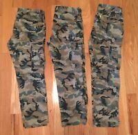 3 Pair -Levi's Elmwood Camoflauge Cargo Pants