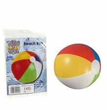 WILD AND WET INFLATABLE CLASSIC BEACH BALL POOL TOY