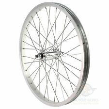 "20"" BMX Bike Front Wheel Scooter Replacement Alloy Rim 36H 3/8 1.75 Hub Bicycle"