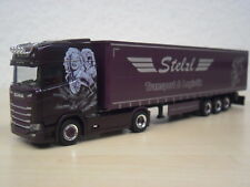 "Herpa - Scania CS HD GaPlSZ ""Stelzl Transport / Sommerfest 2018"" - 932073 - 1:87"