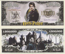 RARE: Harry Potter $1,000,000 Novelty Note, Movies Buy 5 Get one FREE