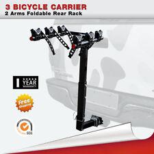 3 Bike Bicycle Carrier Rack Hitch Mount Rear Swing Down Heavy Duty Car Truck SUV