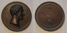 medaglia Antonio Canova a ricordo della morte