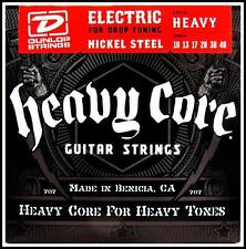 Dunlop Heavy Core Electric Guitar strings Heavy For Drop Tuning 10 - 48 New