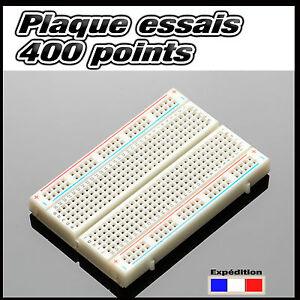 921A# plaque d'essais  prototype 400 points  -- breadboard PCB arduino -