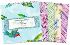 """Wilmington Humming Along by Nancy Mink 503 544 503 5"""" Squares Cotton Fabric"""