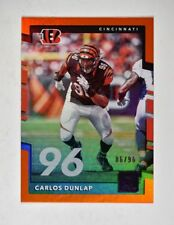 2017 Donruss Jersey Number #89 Carlos Dunlap /96 - NM-MT