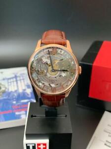 TISSOT Chemin Des Tourelles Squelette Mechanical Men's Watch T099.405.36.418.00