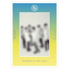 BOYFRIEND [Never End] 5th Mini Album Day Version CD+Poster+Photobook+Card+S.Card
