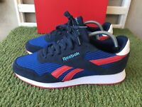 Reebok Classics Royal Ultra Size 7 UK Navy - Vector Red Men's Suede Trainers