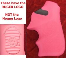 NEW Genuine RUGER LOGO PINK Hogue Tamer Rubber Grip LCR LCRX LCR-X