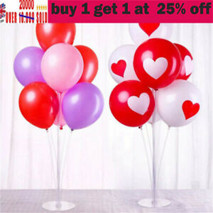2/5* Table Balloon Stand Kit Balloon Arch Base Support Holders Stand Party Decda
