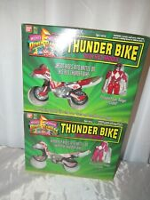 Mighty Morphin Power Rangers Thunder Bike With Pink & Red Ranger Bandai!