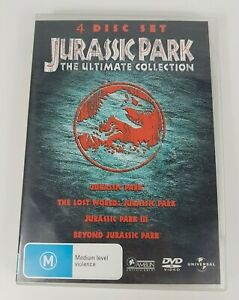 Jurassic Park The Ulitmate Collection 4 Disc Set