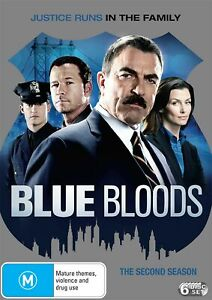 Blue Bloods The Second Season 2 Series Two DVD Region 4 NEW