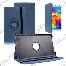 Cover Case Rotary Rotation 360 DARK BLUE Samsung Galaxy Tab 4 8.0 T335 4G LTE