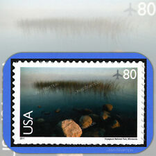2011  VOYAGEURS NATIONAL PARK  Scenic American Landscapes  80¢  AIR MAIL  #C148