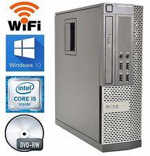 Dell 990 Windows 10 PRO Computer 3.1GHz Intel Core i5 Quad 1TB HD 8GB RAM WIFI