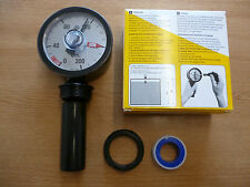 Fully Adjustable Float Gauge IBC Tap Adaptor Tank Fitting Oil Water Fuel Gauge