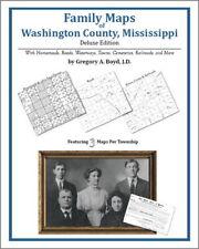 Family Maps Washington County Mississippi Genealogy MS