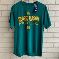 Adidas George Mason Patriots University Basketball Creator T-Shirt - Size L -NWT
