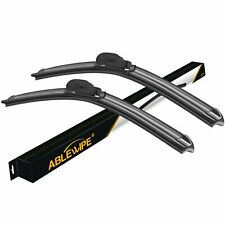 "ABLEWIPE 22""+22"" Fit For SAAB 9-3 2008-2011 Beam Front Windshield Wiper Blades"