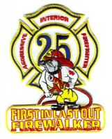 Houston Fire Department Station 25 Patch Texas TX v2
