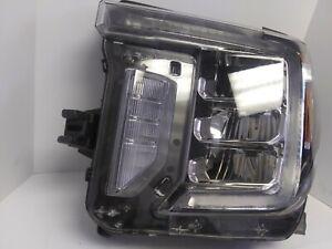 2019 2020 GMC Sierra 2500 3500 LED Headlight Left Hand OEM