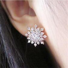 Women Girls Bijoux Splinter Stud Earrings For Wedding Jewellery Earring