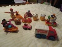 Vintage Lot of 1980/90's McDonald Happy Meal Toys - 11 Toys in all!