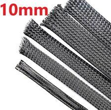 10 mm x 3 m haute qualité Pet Nylon Extensible Gaine Fil de Câble gaine