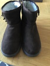 River Island Ankle Boots 5-5 1 /2 Brown