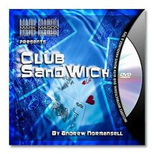 CLUB SANDWICH by Andrew Normansell and JB MAGIC - DVD - NEW!